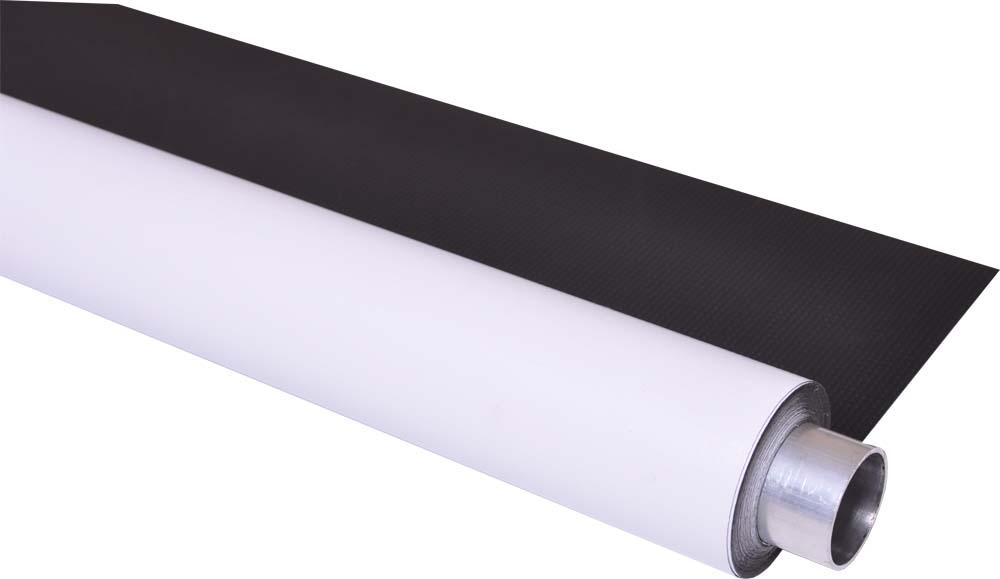 DUO Vinylhintergrund weiß und schwarz, moderntex