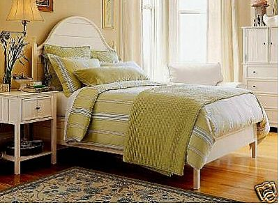 dmwebb57 pottery barn f q morrison stripe duvet std. Black Bedroom Furniture Sets. Home Design Ideas
