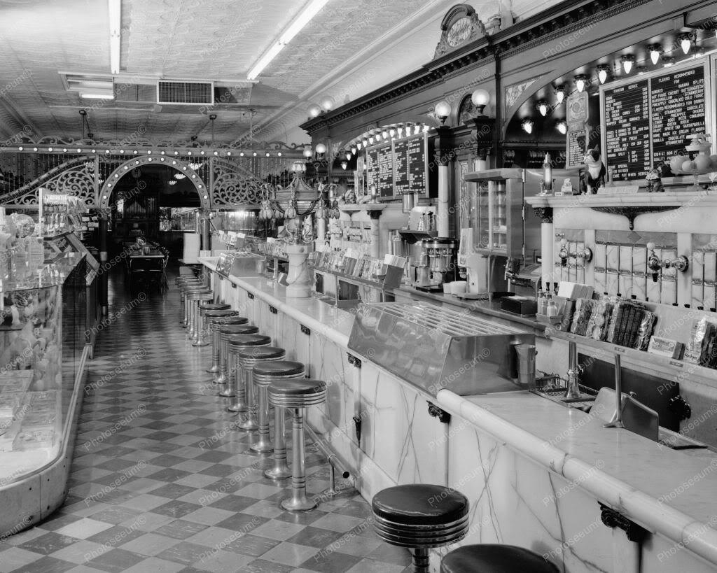 Stores vintage retro