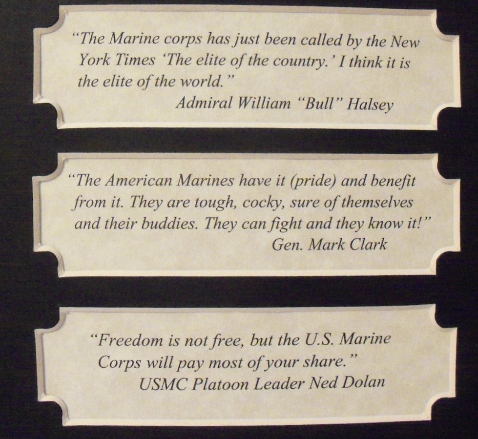 Eleanor Roosevelt Quote About Marines Famous Marine Corps Quotes Endearing Best 25 Marine Corps Quotes
