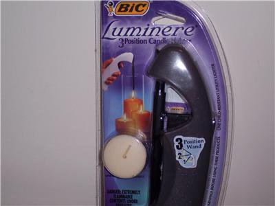 bic candle lighter instructions