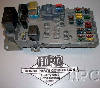 1988 honda prelude fuse box location 1997 - 2001 honda prelude main fuse box | ebay #7