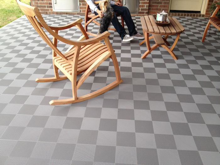 Patio Perforated Tile