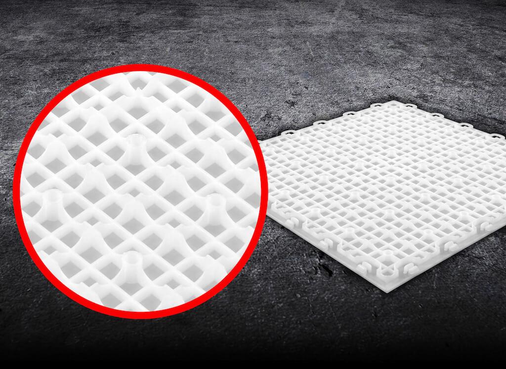 Inline Hockey Floor Tiles 12x12 Interlocking Tiles Indoor