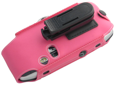 NEW PINK CASE CLIP HOLSTER FOR T MOBILE SIDEKICK 3 SK3