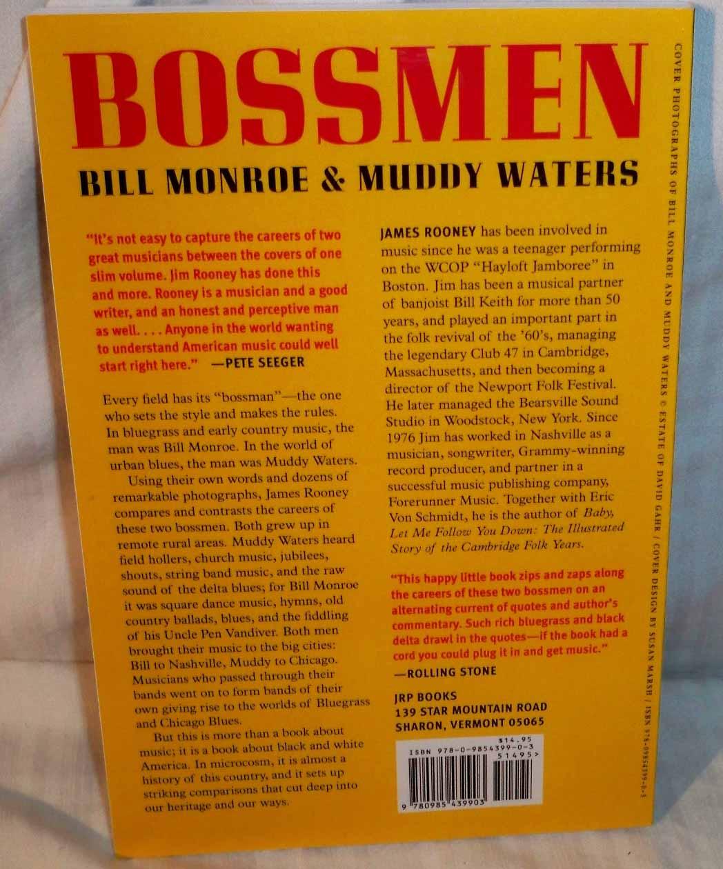 JIM ROONEY - Bossmen SIGNED