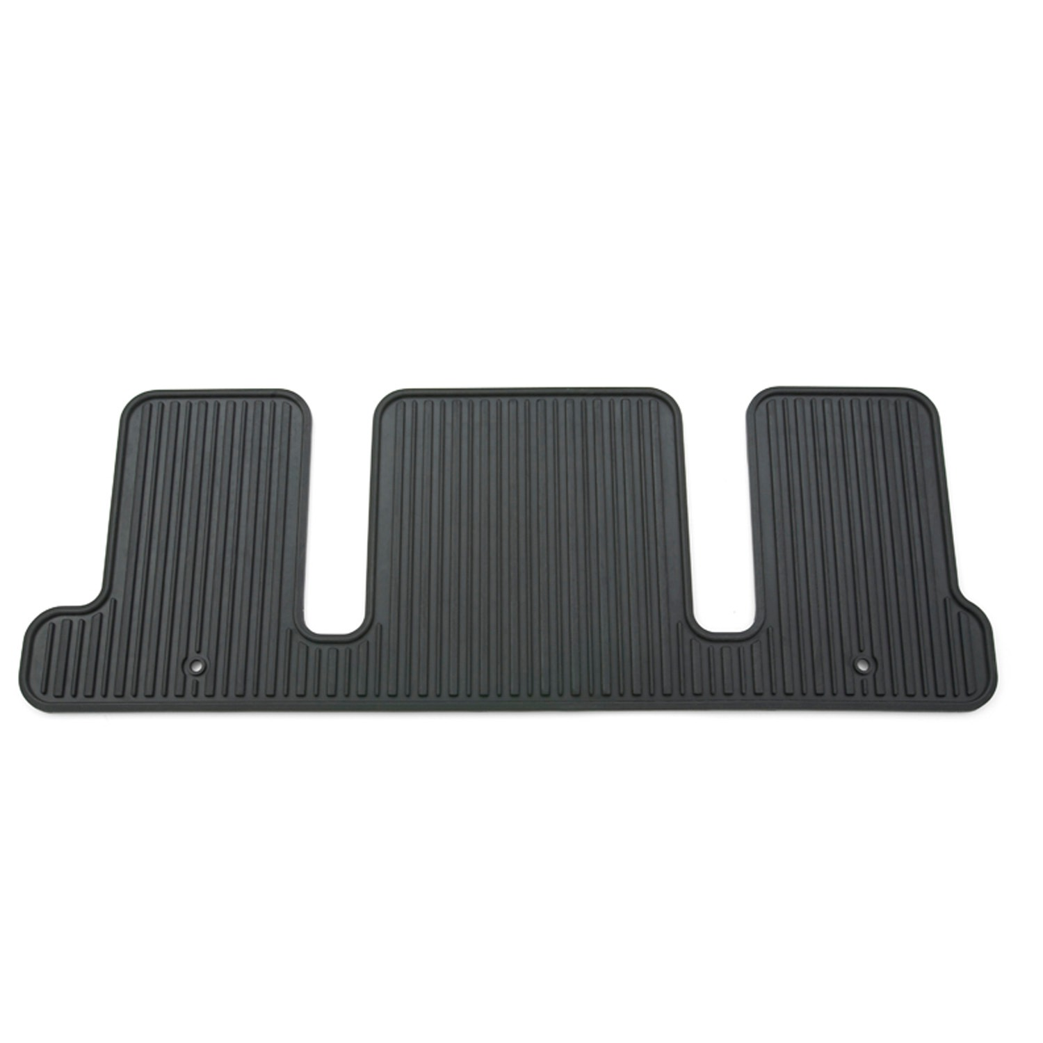 GM Accessories 22890016 Front All-Weather Floor Mats in Ebony with Traverse Logo