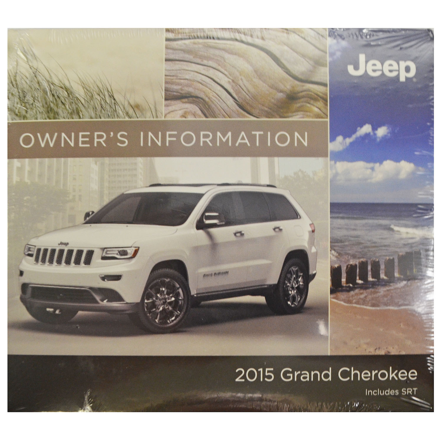 New Owners Information Manual DVD For 2015 Jeep Grand Cherokee  15WK741-426-AA