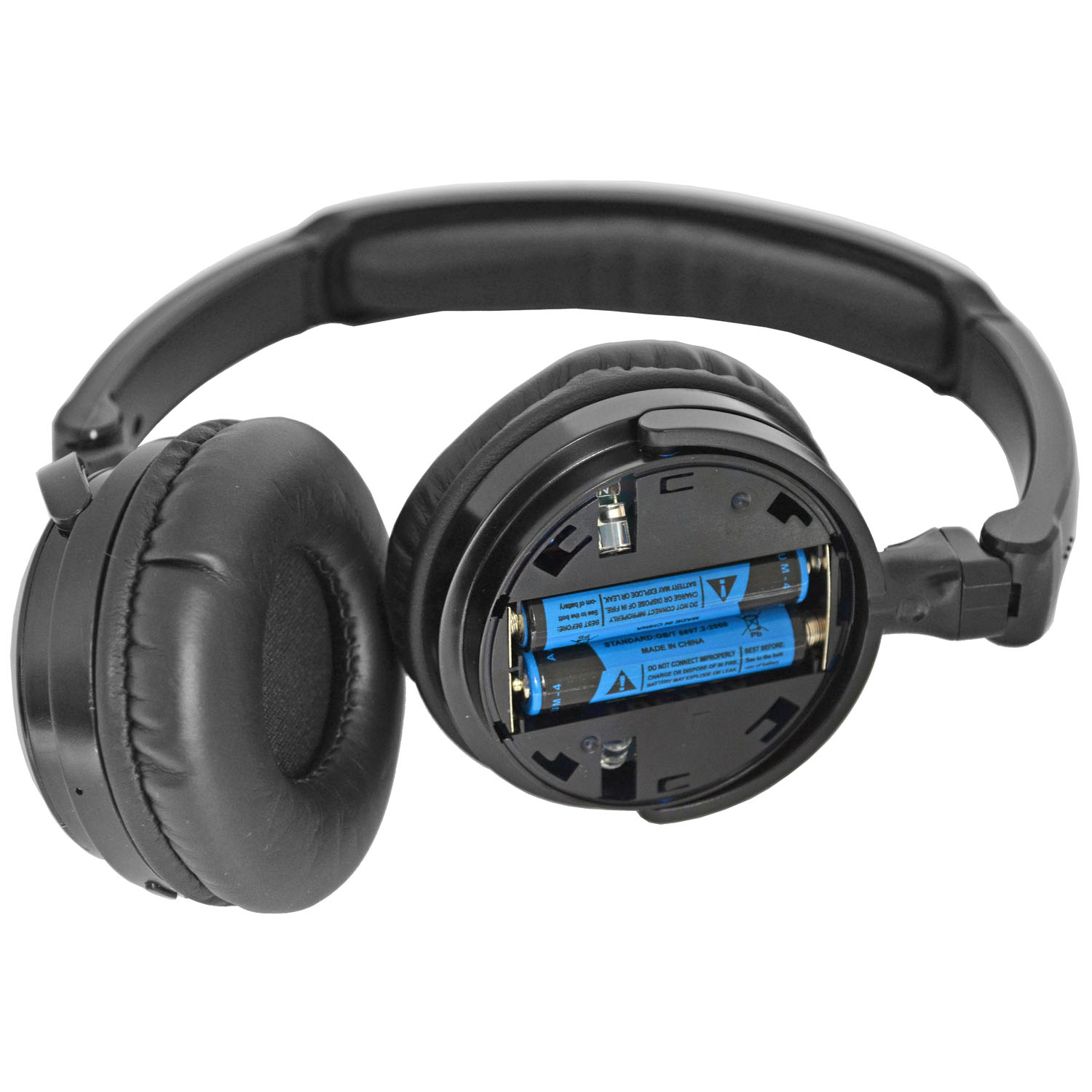TWO Factory Mercedes Wireless Headphones >Refer to Picture for compatible System