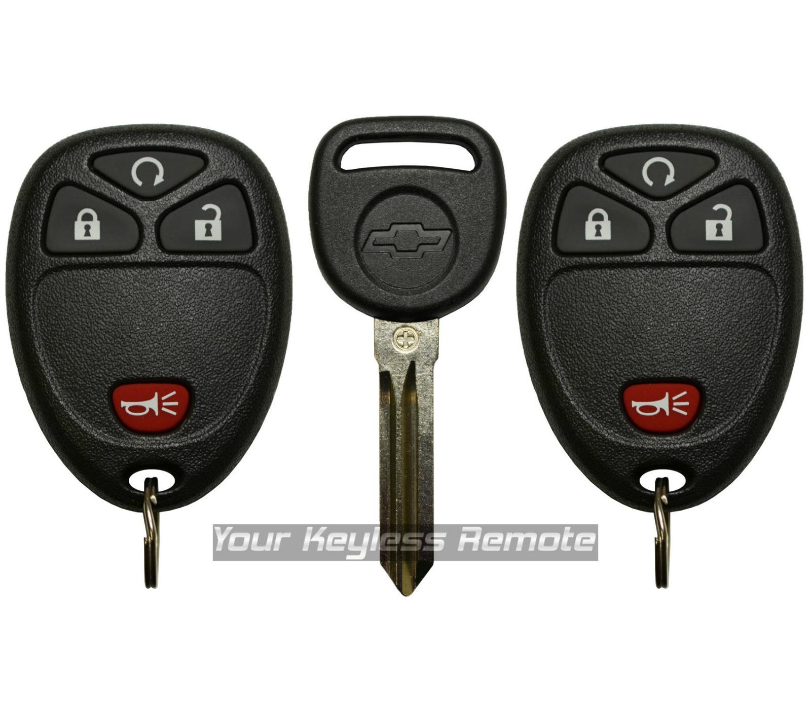 2 new replacement remote start keyless fob logo ignition transponder key van ebay. Black Bedroom Furniture Sets. Home Design Ideas