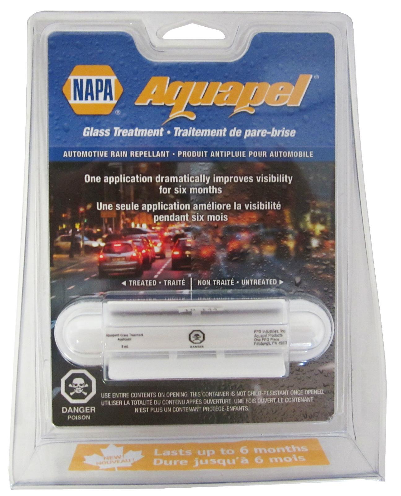 One New Napa Aquapel Windshield Glass Automotive Rain Repellant