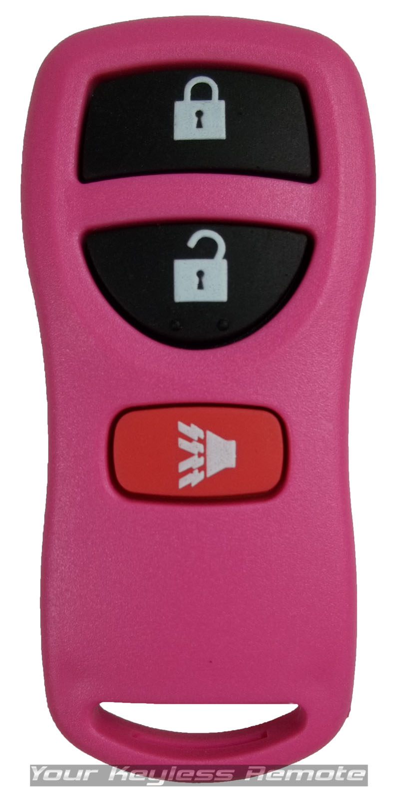 New Pink Replacement Remote Key Keyless Entry Fob Transmitter Clicker Alarm For Nissan Infiniti Kbrastu15 Fits Product Image1
