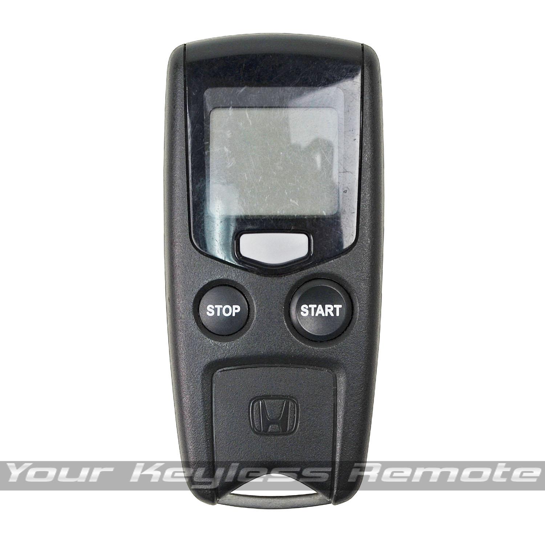 Oem Honda Remote Start Key Keyless Entry Fob Lcd 2 Way Pager Alarm Rs 08ac 1 Ebay