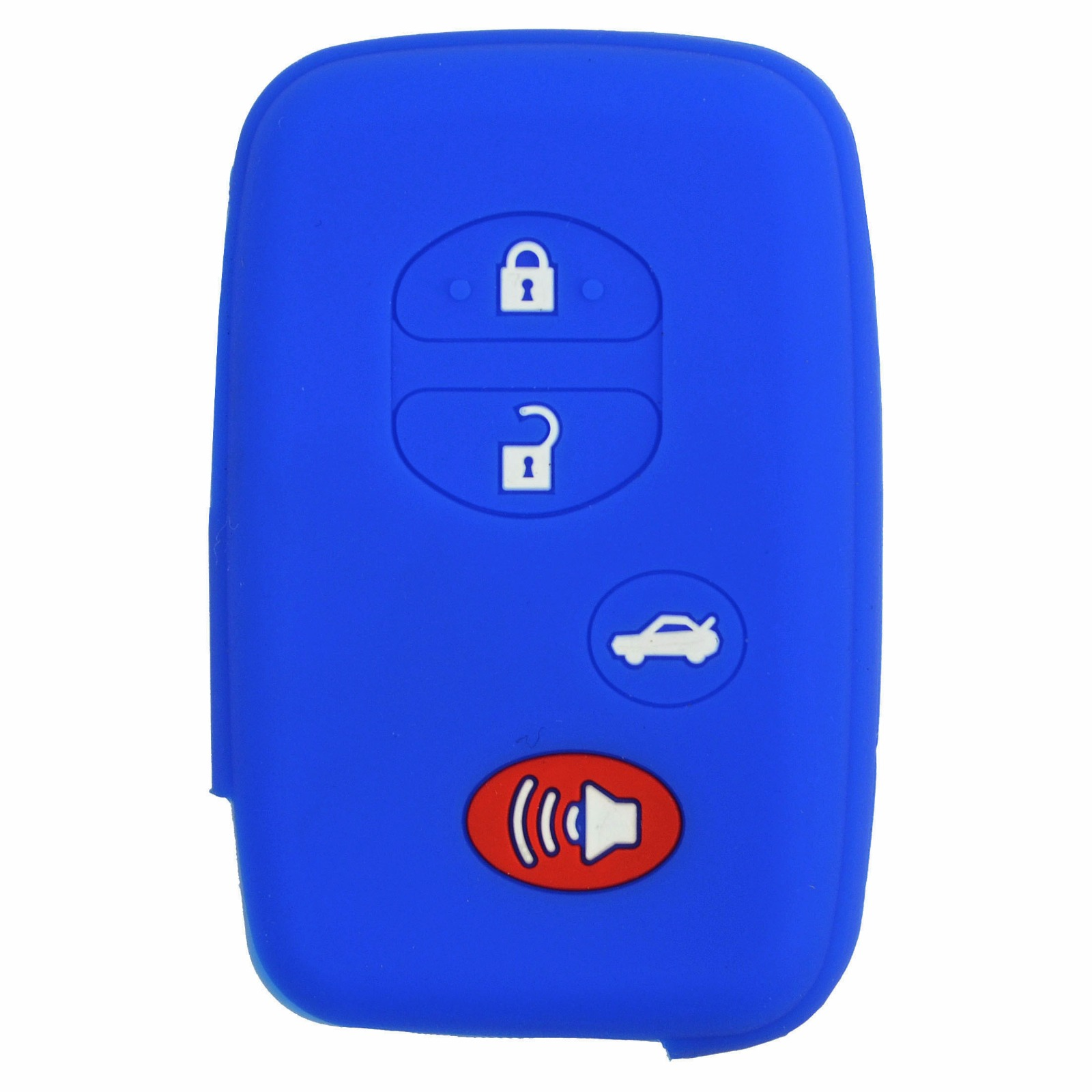 HYQ14AEM HYQ14ACX QualityKeylessPlus Replacement Case for a Lexus 4 Button Remote FCC IDs HYQ14AAB