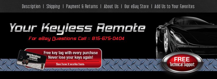 Ihre Remote-Schlüsselless