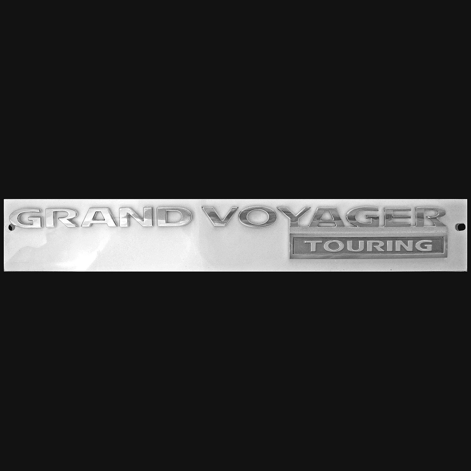 New Grand Voyager LX Trim Mini Van Door Rear Liftgate Logo Emblem Badge Decal