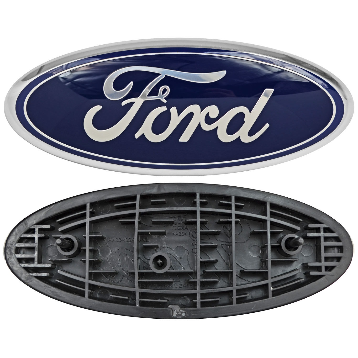 Details About Ford Truck Logo Oval Front Grill Emblem Badge Replacement 9 X 3 5 Symbol Trim