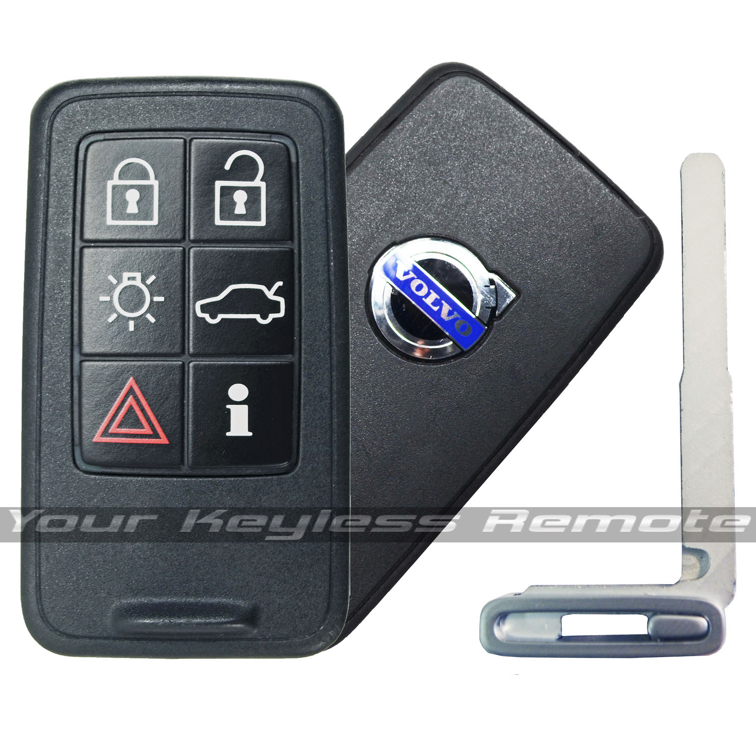autokeymall key volvo auto productview buttons lock system smart