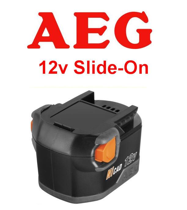 aeg b1220r 12v 2 0ah nicd cordless drill battery fits. Black Bedroom Furniture Sets. Home Design Ideas