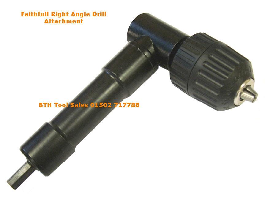 Right Angle Drill Attachment Faithfull Right Angle Drill