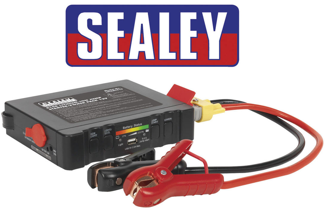 sealey petrol diesel 12v battery jump start starter booster power pack lstart810 ebay. Black Bedroom Furniture Sets. Home Design Ideas