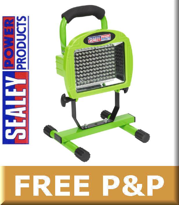 Work Light Rechargeable Led Garage Jobsite Plastic: NEW Sealey 108 LED Rechargeable Floodlight/Site/Work/Task