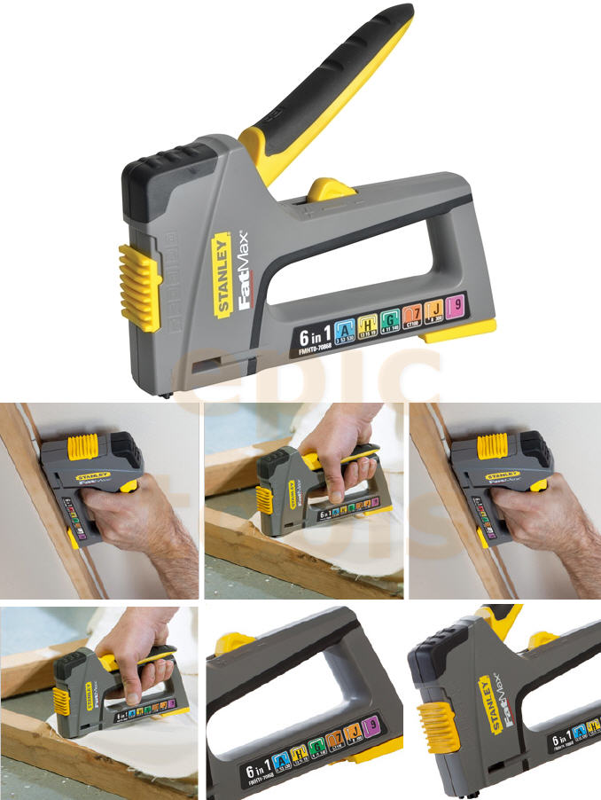 how to use a staple gun stanley