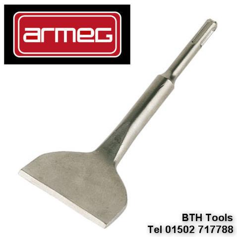 ARMEG SDS Floor amp Wall Tile Removing Remover 80mm Wide