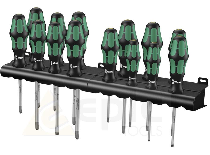 wera big pack 14 piece kraftform screwdriver set pz ph. Black Bedroom Furniture Sets. Home Design Ideas