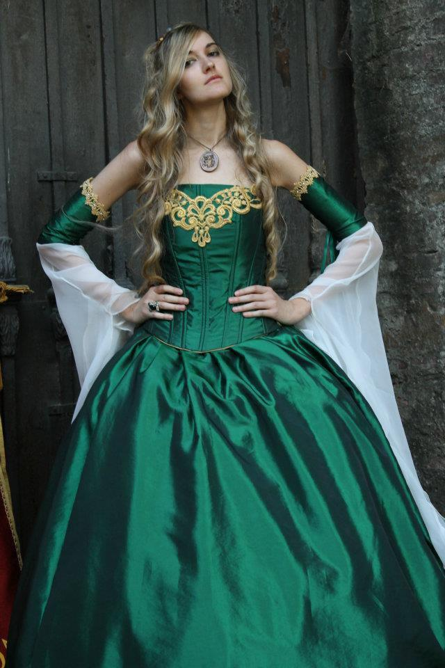 Game of Thrones Cersei Corset Medieval Gown