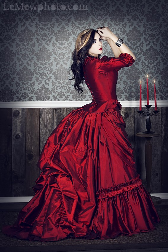 Remake of the Mina gown from Dracula