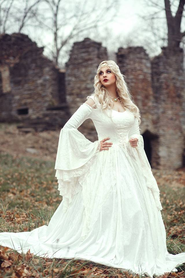 Most Popular Gwendolyn Medieval Wedding Gown