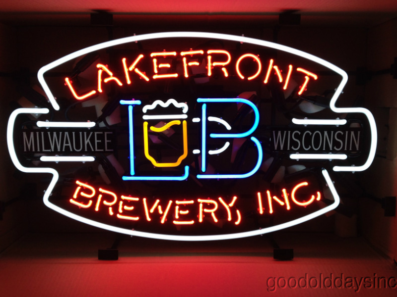 Lakefront Brewery Beer Sign