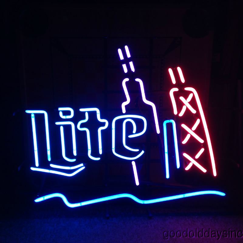 Chicago Skyline Miller Lite Sign - Sears Tower