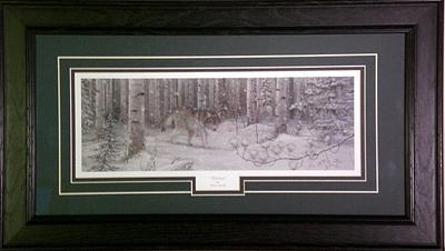 Mark Daehlin Deer Valley John Deere Farm Print  14.5 x 5