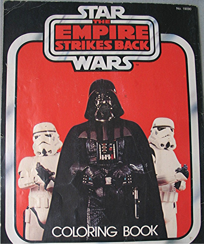 - Vintage Star Wars Coloring Book -- The Empire Strikes Back EBay