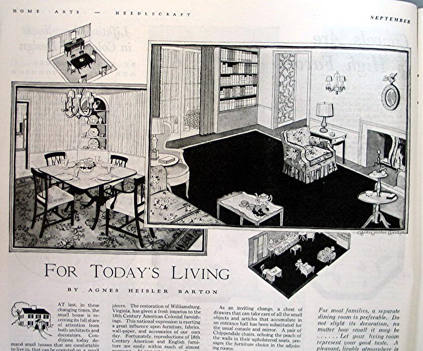 Details about Vintage 1937 Magazine -- Home Arts - Needlecraft