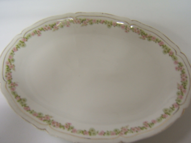 Royal Vienna Austria Roses W Gold Trim Oval Platter Ebay