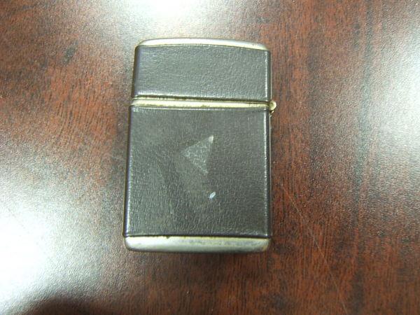 Vintage Champ Cigarette Lighter Leather Embossed Jets Ebay