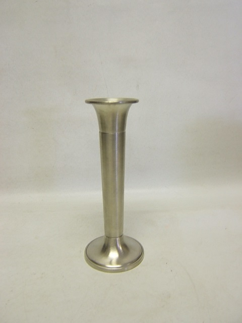 Woodbury Pewter Tapered Bud Vase Satin Finish 6 12 Height Vgc Ebay