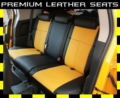 Best Car Seat Covers >> Clazzio Covers : 2007-2011 Toyota FJ Cruiser Leather Seat Covers Cover
