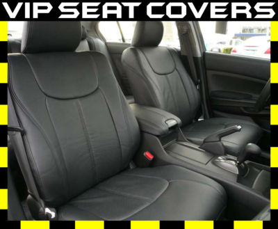 Dodge Truck Seat Covers >> Clazzio Covers : 2008-2012 Honda Accord Sedan LX Leather Seat Covers