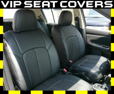 2007 2010 Nissan Versa SL Leather Seat Covers Clazzio