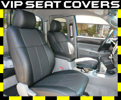 Clazzio Covers 2005 2008 Toyota Tacoma Access Cab Leather Seat Covers