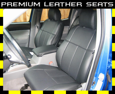 Clazzio Covers : 2005-2011 Toyota Tacoma Double Cab Leather Seat Covers
