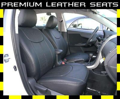 Clazzio Covers 03 10 Toyota Corolla Leather Seat Covers Full Cover Set