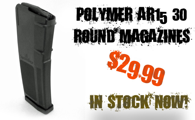 In stock AR15 Magazines, ready to ship to your door!