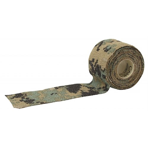 camo wrap tape gun form camouflage digital mcnett woodland rifles shotguns scopes protective