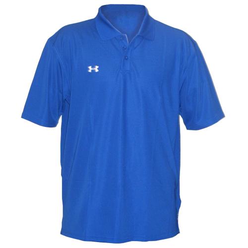 New under armour mens team polo collar shirt blue 3xl ebay for Under armour 3xl polo shirts
