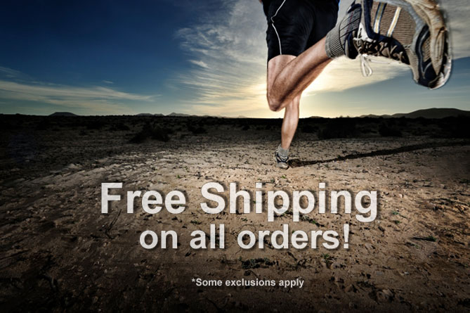 Free shipping on all BuyFitness.com purchases!
